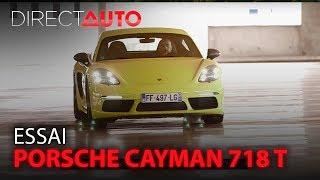 ESSAI : PORSCHE CAYMAN 718 T - La meilleure des Porsche ?
