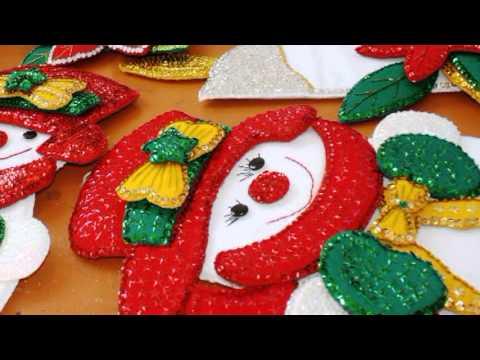 Dif jalapaneco instal el bazar navide o en la pir mide de la cabecera municipal youtube - Ideas para hacer manteles ...