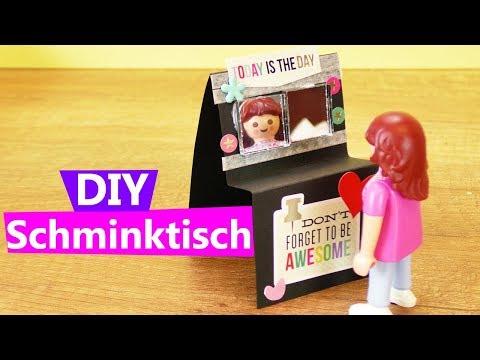 Playmobil Schminktisch Basteln Anleitung Kosmetik Tisch Selber