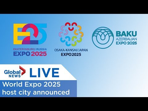 LIVE: World Expo 2025 host announced