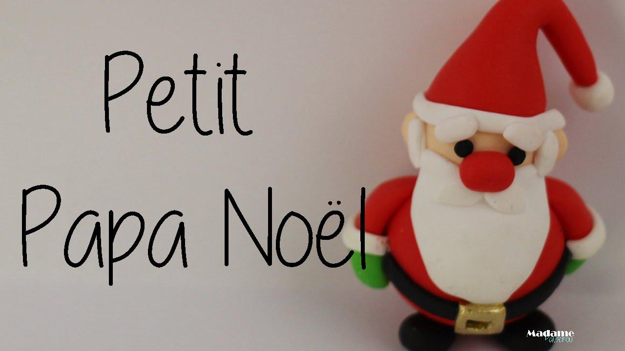 Petit Papa Noël Fimo Little Santa Claus In Polymer Clay English