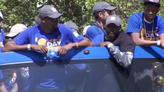 Kevin Durant Warriors parade