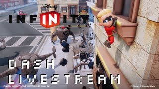 Disney Infinity Dash Incredibles Play Set Livestream