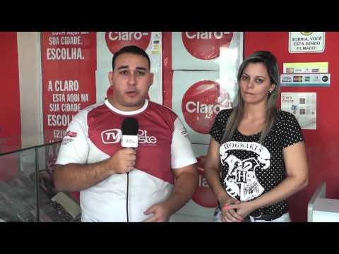 Roubo da Loja Claro em Pau dos Ferros - Emanuel Henrique na TV