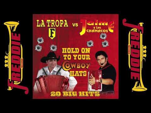Tejano Accordion Battle - La Tropa F vs. Jaime Y Los Chamacos (Super Mix)
