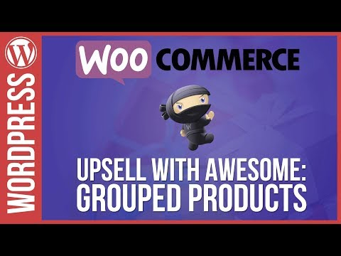 Woocommerce: Up-Sell with Grouped Products - 동영상