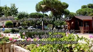 Camping Playa La Bota en Punta Umbría, Huelva, Costa de La Luz, Spain