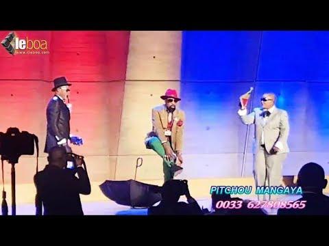 NORBAT DE PARIS  ayindisi podium à L'UNESCO na président CHARDEL + alobi bo za bana tembe esili