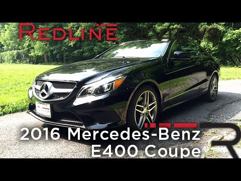 2016 Mercedes-Benz E400 Coupe - Redline: Review - YouTube