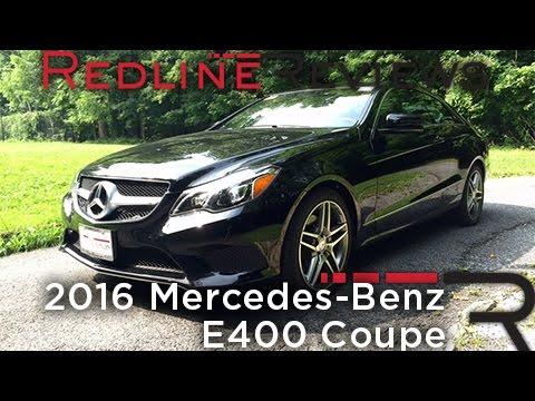 2016 Mercedes Benz E400 Coupe Redline Review
