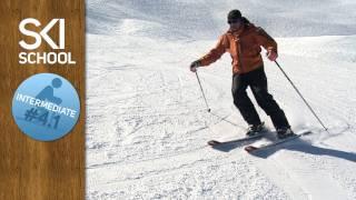 Video Intermediate Ski Lesson #4.1 - Turn Shape download MP3, 3GP, MP4, WEBM, AVI, FLV Agustus 2017