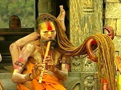 Садху из Катманду.
