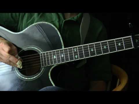 1952 Vincent Black Lightning Guitar Lesson - Simplest Version - The Travis Picking Guitar Series