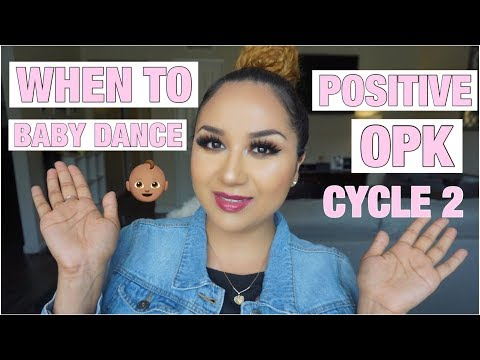 TTC UPDATE POSITIVE OPK WHEN TO BABY DANCE  EASY AT HOME OVULATION KIT CYCLE 2