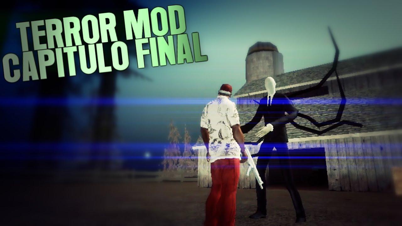 Gta San Andreas Android   CJ vs SLENDERMAN (Terror Mod #10) [FINAL]