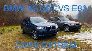 2004 BMW X3 3.0d E83 vs 2018 BMW X3 xDrive20d G01 Walkaround