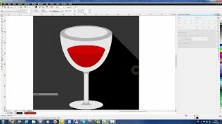 CorelDraw Tutorial: Create Wineglass