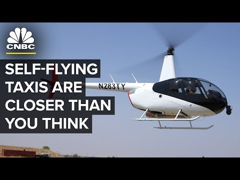 Self-Flying Taxis Are Closer Than You Think - YouTube