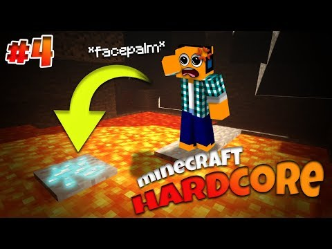 Minecraft Hardcore #4 - 'Pora na diaxy!'