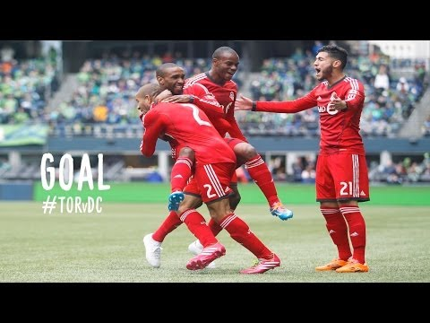 GOAL: Jermain Defoe opens the score for TFC | Toronto FC vs. D.C. United