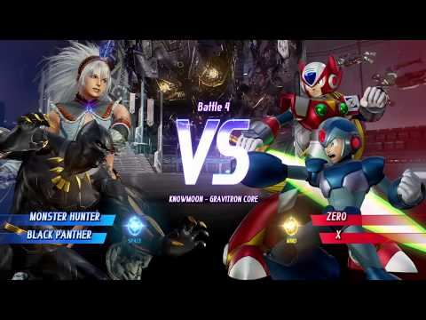 MARVEL VS CAPCOM INFINITE Arcade Team Valkanda Monster Hunter / Black Panther on Hard Difficulty