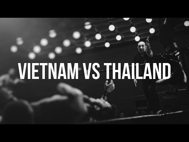 Vietnam vs Thailand: Boxing in Bangkok