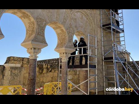 La casa de Ya'Far en Medina Azahara se pone a punto