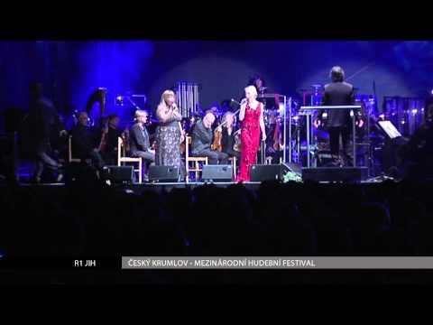 ČESKÝ KRUMLOV: MHF - Broadway Rocks, rozhovor se Zlatou Adamovskou a Petrem Štěpánkem (R1 JIH)