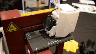 Afinia H-Series 3D Printer in Action