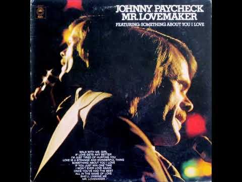 Mr.  Lovemaker , Johnny Paycheck , 1973 Vinyl