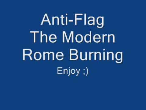 Anti-flag The Modern Rome Burning W / Lyrics mp3