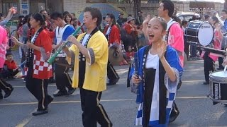 踩街 日本八王子高等学校吹奏楽部 2015嘉義市國際管樂節