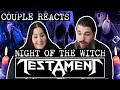 "Download lagu COUPLE REACTS | TESTAMENT ""Night Of The Witch"" 