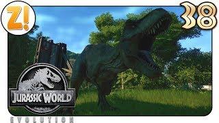 Jurassic World Evolution: Der erste T-Rex & Eskalation bei den Paras #38 | Let's Play [DEUTSCH]