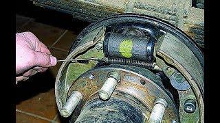 #ПРОремонт как заменить рабочий тормозной цилиндр (РТЦ) на газели