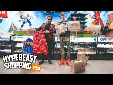 Billionaire Spends $40,000 Dollars Hypebeast Shopping!