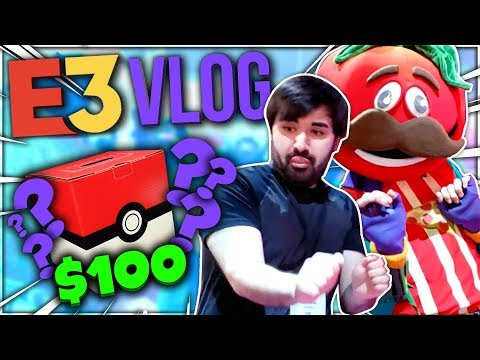 My E3 2019 Trip + 100$ Pokemon Mystery Box!