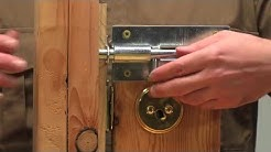 Home Security (Residential Door Security - Deadbolt Locks - Lock Bumping - Drill Attack)