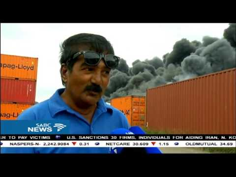 Durban factory blaze contained