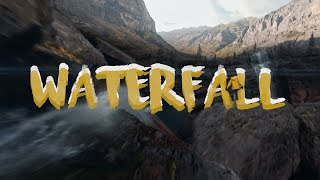 Cinematic waterfall dive- Fpv cinematic explosion!!!