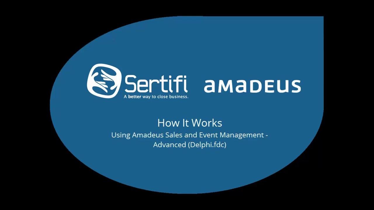 Sertifi for amadeus hospitality youtube sertifi for amadeus hospitality baditri Gallery