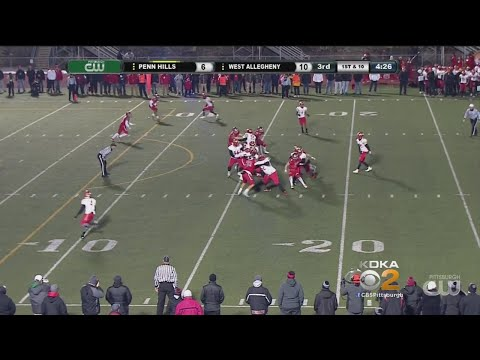 High School Football WPIAL Championships: West Allegheny Vs. Penn Hills