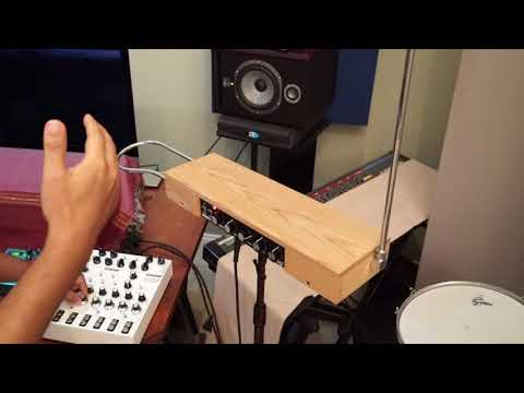 using-the-lyra-8-synth-with-a-theremin