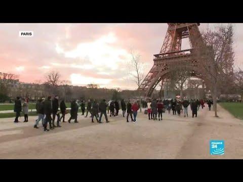 En France, la grève ne décourage pas les touristes étrangers