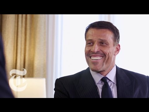 Tony Robbins Reveals His Secret | The New York Times
