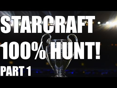 THE 100% STARCRAFT ACHIEVEMENT HUNT - The Wings of Liberty (Part 1)