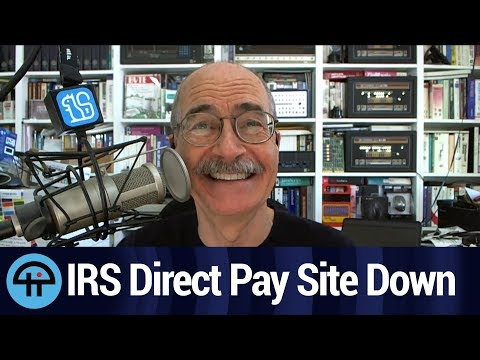 IRS Direct Pay Site Down on Tax Day