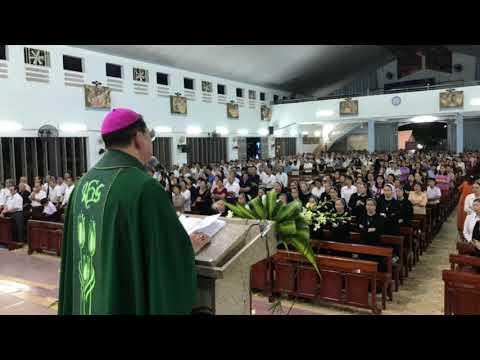 Đức Cha Giuse Vũ Văn Thiên Giảng Lễ Giỗ tại Gx Thuận Hoà