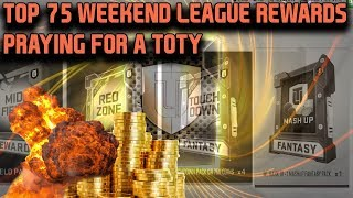 TOP 75 WEEKEND LEAGUE REWARDS | MADDEN 19 ULTIMATE TEAM