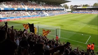 KV Mechelen Fans take over Den Dreef | OHL-KVM 1-1
